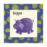Hippo Giclee Print