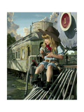 High Noon Giclee Print by Bob Byerley