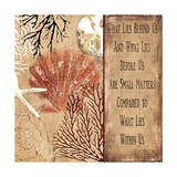 Emerson quote Giclee Print by Karen Williams