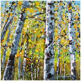 Treescape 8 Prints by Carole Malcolm