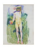 Girl with a Ball Giclee Print by Frantisek Kupka
