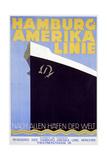 Hamburg Amerika Linie Giclee Print