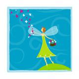 Fairy Flowers Giclee Print