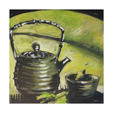 Green Tea Giclee Print by Tim Nyberg
