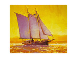 Golden Sea Giclee Print by Steve Henderson