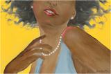 Femme noire Posters by Hélène Léveillée