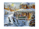 Hey! Wait for Me Giclee Print by Nicky Boehme