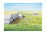 Emerald Acres Giclee Print by Kevin Dodds