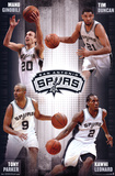 San Antonio Spurs - Team 14 Pósters