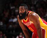 San Antonio Spurs v Houston Rockets Photo af Bill Baptist