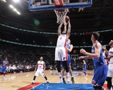 New York Knicks v Detroit Pistons Foto af Allen Einstein