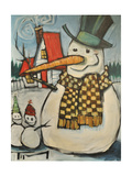 Frosty Family Giclee Print by Tim Nyberg