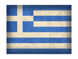 Greece Giclee Print by David Bowman