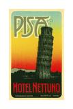 Hoel Nettuno, Pisa Italy Giclee Print