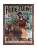 Huile D Olive Giclee Print
