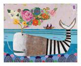Spring Whale Plakater af Nathaniel Mather