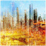 City Abstract 2 Prints by  Jefd