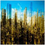 City Abstract 1 Posters av  Jefd