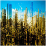 City Abstract 1 Prints by  Jefd