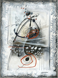 Pendulair Print by Sylvie Cloutier