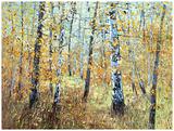 Treescape 7 Art by Carole Malcolm