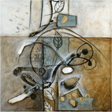 Nervures Print by Sylvie Cloutier
