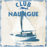 Nautical club Prints by Galith Sultan
