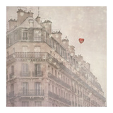 Heart Paris Prints by Keri Bevan