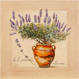 Lavender pot Prints by  Lizie