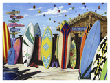 Surf Shack Art by Scott Westmoreland
