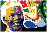 Madiba Affiches par Ray Lengelé