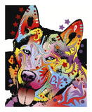 Siberian Husky Posters by Dean Russo
