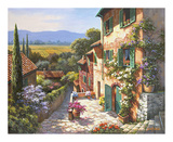 Sung Kim - Spring in the Valley Obrazy