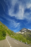 Mountain Impression at Susten Pass with Cirrus Cloud Photographic Print by Frank Krahmer