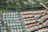Aerial View of Townhouse Complex, South Africa Photographic Print by Richard Du Toit