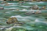 Brook Impression near Thunder Creek Falls with Rocks Photographic Print by Frank Krahmer
