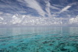 Calm Ocean Water in the Bahamas Photographic Print by Stephen Frink