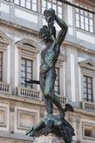 Piazza Signoria, Perseo E Medusa Statue by Benvenuto Cellini Photographic Print by Guido Cozzi