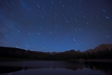 Star Trails over a Lake Photographic Print by W. Perry Conway
