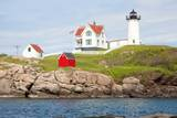 Nubble Lighthouse, Cape Neddick, York, Maine Photographic Print by Joseph Sohm