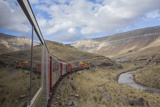 Tourist Train High in Andes above Lima, Peru Photographic Print by John and Lisa Merrill