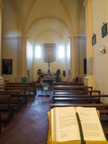 Inside Very Small Chapel in the Town of Volpaia Chianti Tuscany Photographic Print by Terry Eggers