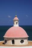 Pink Dome at El Morro Fortress Fotodruck von Onne van der Wal