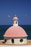 Pink Dome at El Morro Fortress Photographic Print by Onne van der Wal