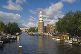 Montelbaanstoren and Canal Photographic Print by Guido Cozzi