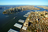 Aerial View of Manhattan and Brooklyn Photographic Print by Stefano Amantini