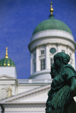 Cathedral in Helsinki Photographic Print by Peter Adams