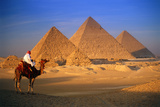 Pyramids in Egypt Photographic Print by Peter Adams