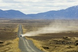 Gravel Road Leading to Dettifoss Waterfall Photographic Print by Sergio Pitamitz