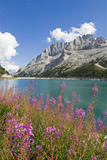 Fedaia Lake and Marmolada Photographic Print by Guido Cozzi